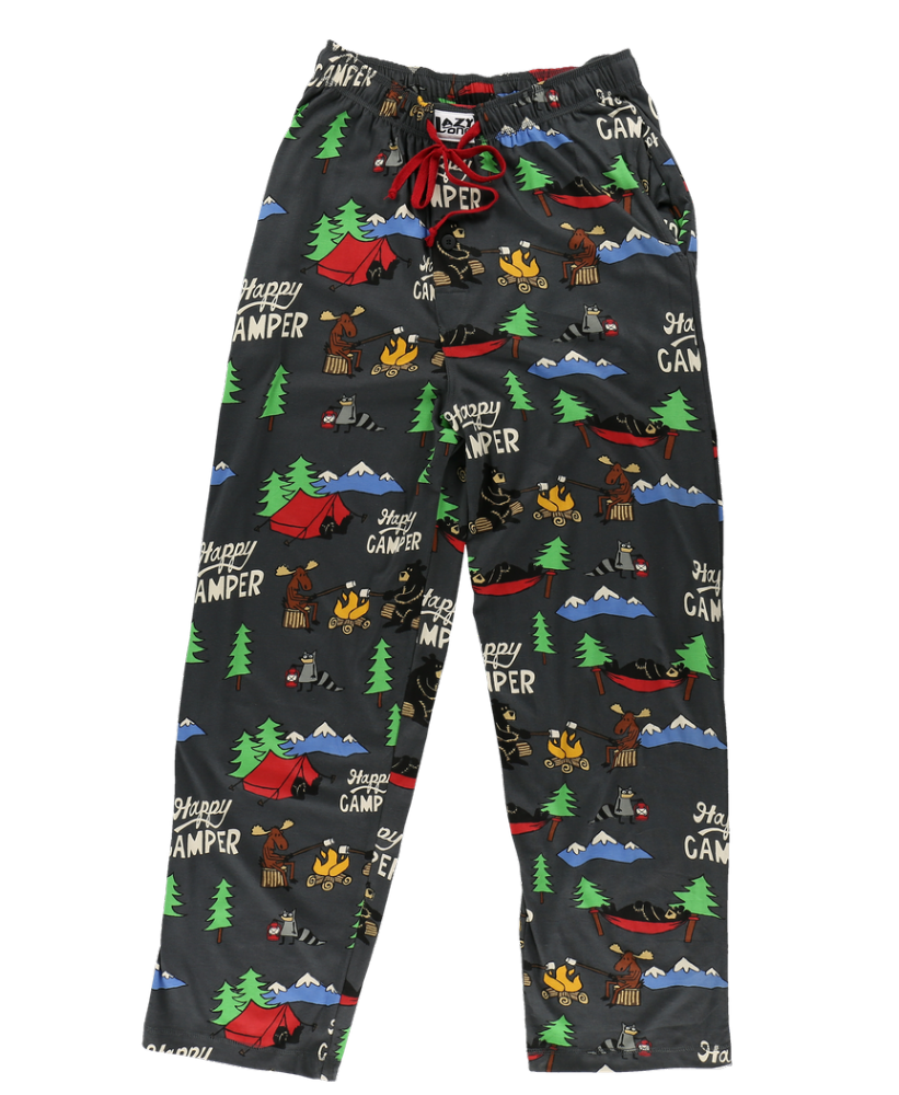 Men's Happy Camper PJ Trousers - Lazy One®